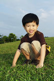 Young Asian boy Stock Photos