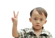 Young asian boy Stock Photography