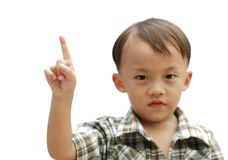 Young asian boy Royalty Free Stock Photography