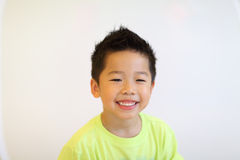 Young asian boy portrait Royalty Free Stock Photo