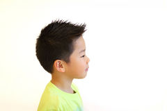 Young asian boy portrait Royalty Free Stock Photography
