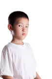Young Asian Boy with Upset look Royalty Free Stock Images