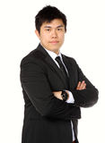 Young asian business man Royalty Free Stock Photos