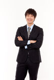 Young Asian business man Royalty Free Stock Photo