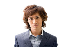 Young Asian business man stock images