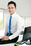 Young asian business man at the office Stock Photography