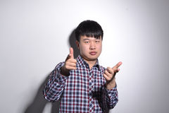 Young Asian business man Royalty Free Stock Images