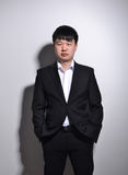 Young Asian business man Royalty Free Stock Image