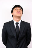 Young Asian Business man stressed Royalty Free Stock Photos