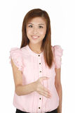 Young Asian business woman. Royalty Free Stock Images