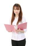 Young asian business woman Stock Photos