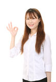 Young asian business woman Royalty Free Stock Images