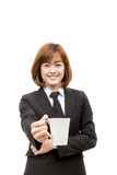 Young asian business woman Royalty Free Stock Photography