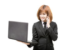 Young asian business woman Stock Photos