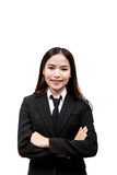 Young asian business woman Stock Photography