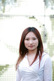 Young asian business women royalty free stock photo