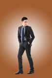 Young Asian businessman Stock Image