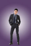 Young Asian businessman Stock Images