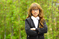 Young asian businesswoman Royalty Free Stock Image