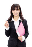Young asian businesswoman Stock Images