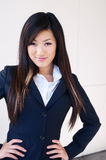 Young asian businesswoman Stock Photography