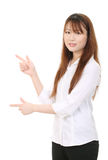 Young asian businesswoman Stock Image