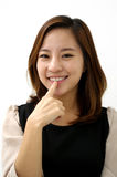 Young asian businesswoman Royalty Free Stock Photo