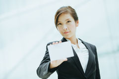 Young asian businesswoman Stock Photo