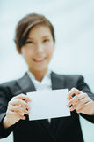Young asian businesswoman Stock Photos