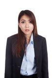 Young Asian businesswoman shocked Royalty Free Stock Images