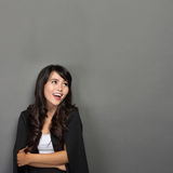 Young Asian businesswoman Smile Stock Images