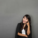 Young Asian businesswoman Smile Stock Photo