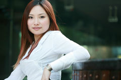 Young asian businesswomen Royalty Free Stock Images