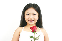Young asian child 001 Royalty Free Stock Images