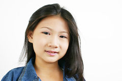 Young asian child 001 Royalty Free Stock Image