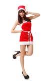 Young Asian Christmas girl Royalty Free Stock Photo