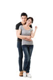 Young Asian couple Stock Photo