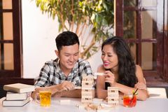 Young Asian couple Royalty Free Stock Images