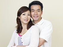 Young asian couple stock image