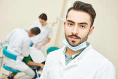 Young asian dentist doctor Stock Image