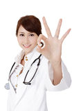 Young Asian doctor Stock Photography