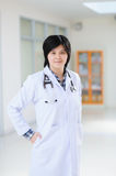 Young asian doctor at hospital Stock Images