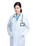 Young asian doctor woman Royalty Free Stock Photo
