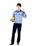 Young Asian engineer. Stock Images