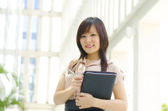Young Asian executive Royalty Free Stock Images