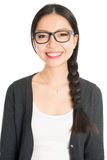 Young Asian female headshot Stock Images