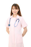 Young asian female nurse Stock Photos