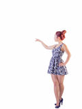 Young Asian Female In Short Dress Stock Photos