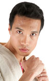 Young asian fighter Royalty Free Stock Photo