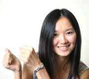 Young asian girl 03 Royalty Free Stock Photos